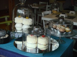 A variety of cakes to choose from